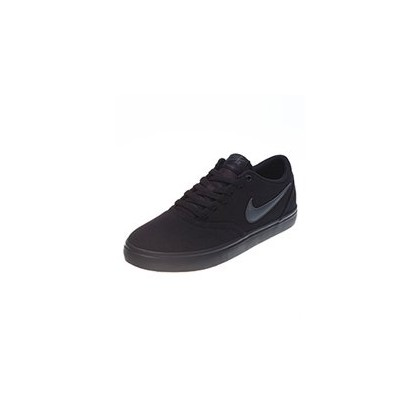 Womens Check Solar Shoes in Black/Black by Nike