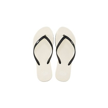 Fiesta Thongs in Black/White by Rip Curl