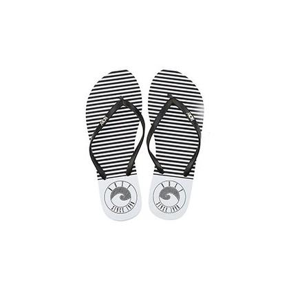 Viva Stamp Thongs in Black/White by Roxy