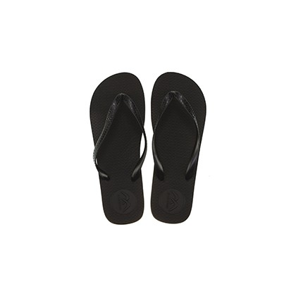 "Boomerang Thongs in ""Black/Grey""  by Willi Clothing And Footwear"