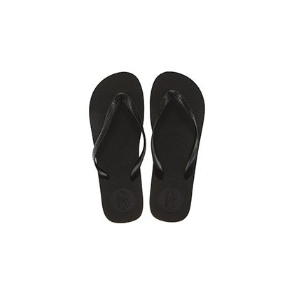 Boomerang Thongs in Black/Grey by Willi Clothing And Footwear