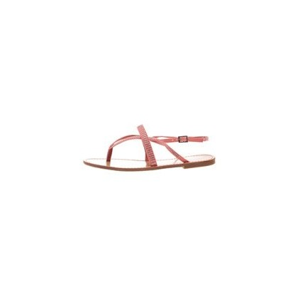 Cedar Sandals in Coral by Bamboo