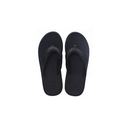 Mens Recoil Sandals in Black by DC Shoes
