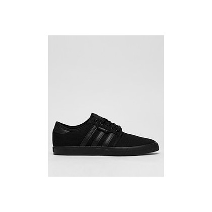Seeley Shoes in Core Black/Core Black/Cor by Adidas