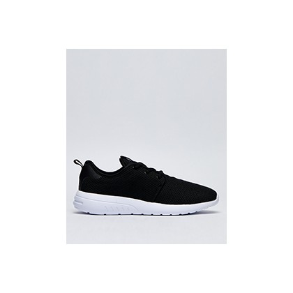 "Bristol Shoes in ""Black/White/Knit""  by Lucid"