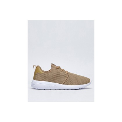 "Bristol Shoes in ""Sand/White/Knit""  by Lucid"