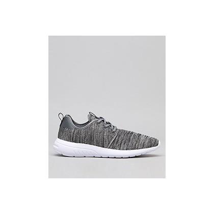 Bristol Shoes in Dark Grey Knit by Lucid