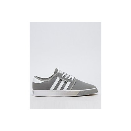 Seeley Shoes in Mgh Solid Grey/Ftwht/Gum by Adidas