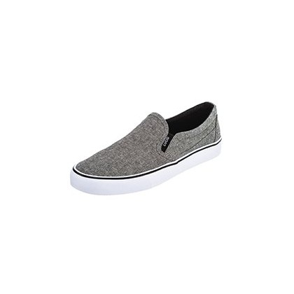 Brighton Slip-on Shoes in Chambray/Black/White by Lucid