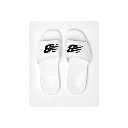 Sdl006v1 Slides in White/Black by New Balance