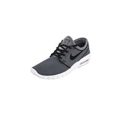 "Janoski Max Shoes in ""Gunsmoke/Black-White""  by Nike"