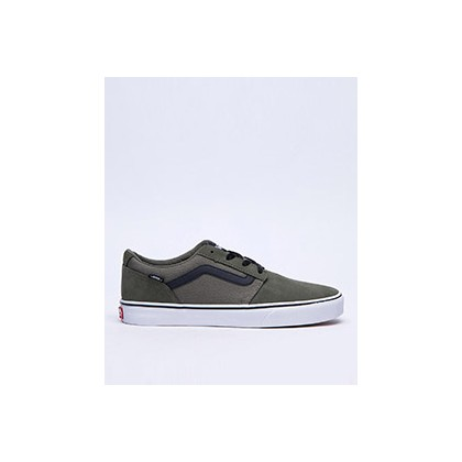 Chapman Shoes in (Suede/Canvas) Dusty Oliv by Vans
