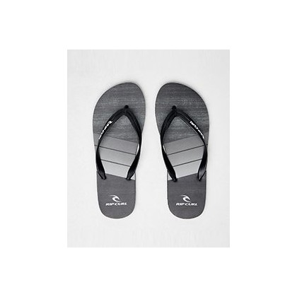 Futures Thongs in Black by Rip Curl