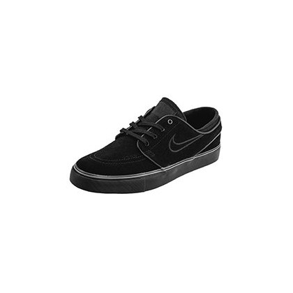 Womens SB Zoom Janoski Shoes in Black/Black by Nike