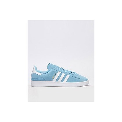 Campus ADV Shoes in Clear Blue White/Ftwr Whi by Adidas
