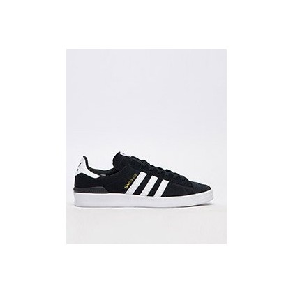 Campus ADV Shoes in Core Black/Ftwr White/Ftw by Adidas