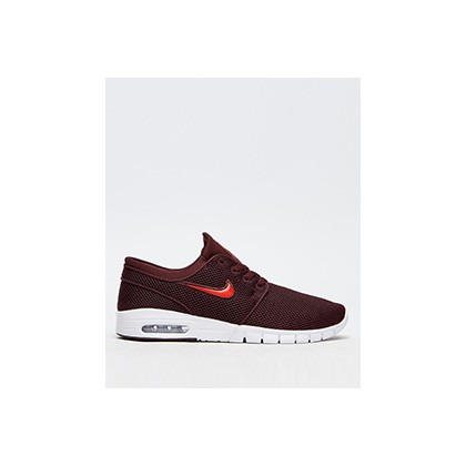 "Janoski Max Shoes in ""Burgundy Crush/Habanero""  by Nike"