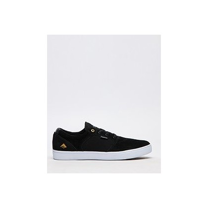 Figgy Dose Shoes in Black/White/Gold by Emerica