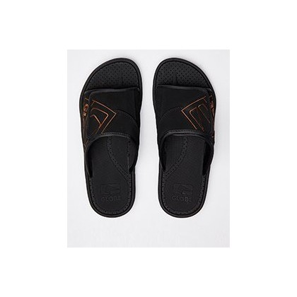 Focus Slides in Black/Tan by Globe