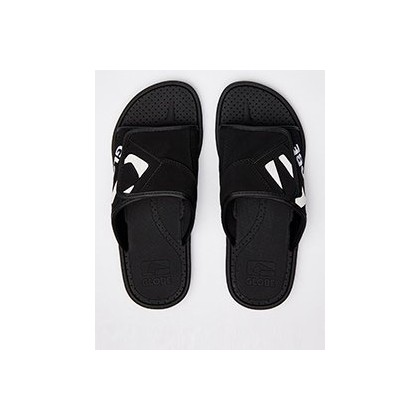 Focus Slides in Black/White/Black by Globe