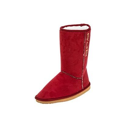 Queensland Winter Boots in Maroon by GET IT NOW