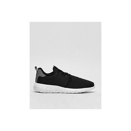 Bristol Shoes in Black/Grey/White/Speckle by Lucid