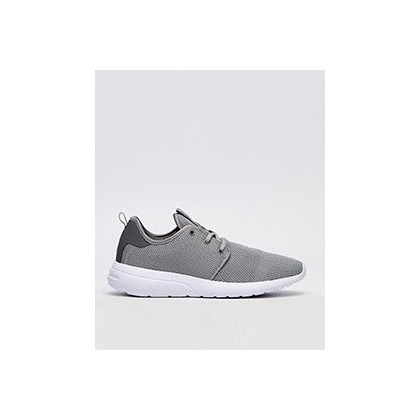 Bristol Shoes in Grey/White by Lucid