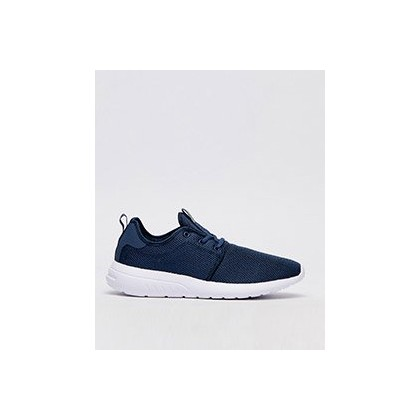 Bristol Shoes in Navy/White by Lucid