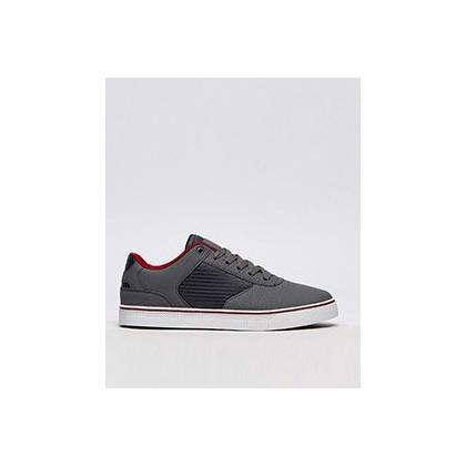 Regent Shoes in Grey/Burgundy by Sanction