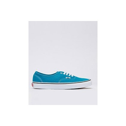 Authentic Shoes in Enamel Blue/True White by Vans