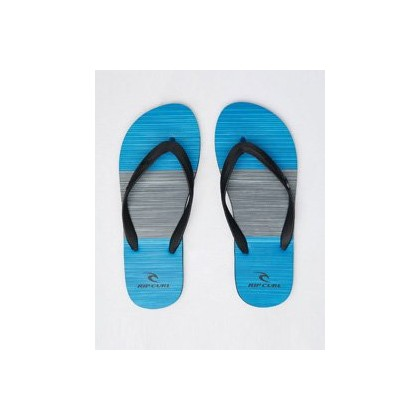 "Splice Thongs in ""Black/Blue""  by Rip Curl"