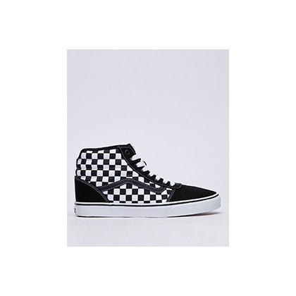 "Ward Hi Shoes in ""(Checkered) Black/True Wh""  by Vans"