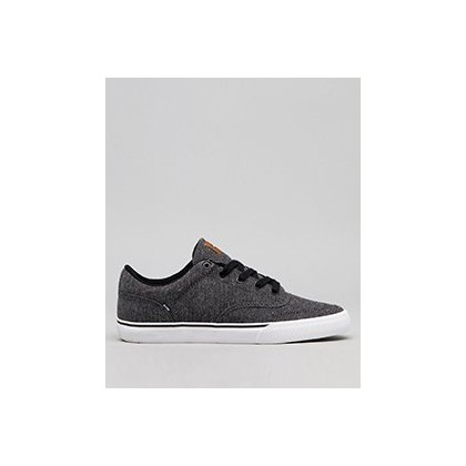 Tribe Shoes in Black Chambray/Tan by Globe