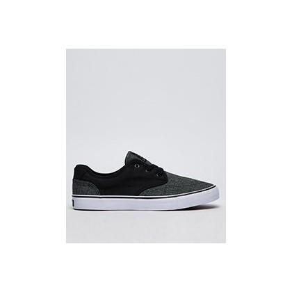 Geomet 2 Tone Shoes in Black/Herringbone by Lucid