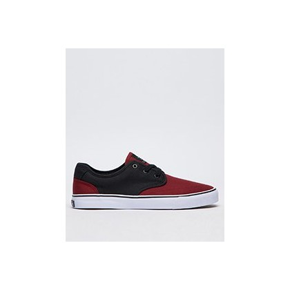 Geomet 2 Tone Shoes in Black/Port by Lucid