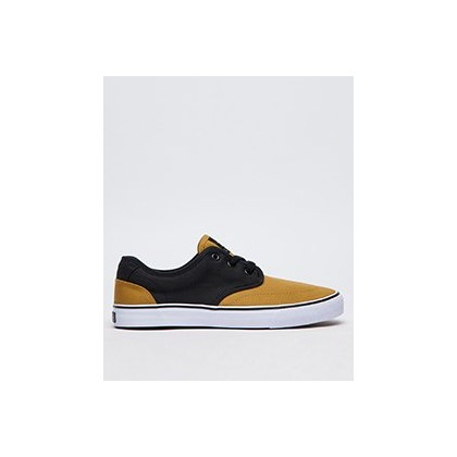 Geomet 2 Tone Shoes in Black/Tobacco by Lucid