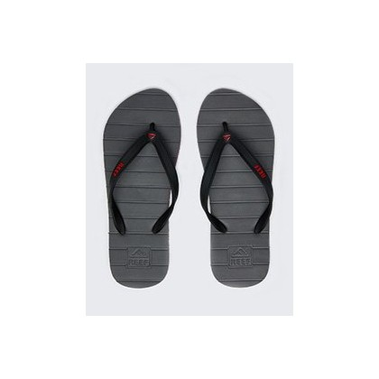 "Switchfoot Thongs in ""Grey/Red Stripe""  by Reef"
