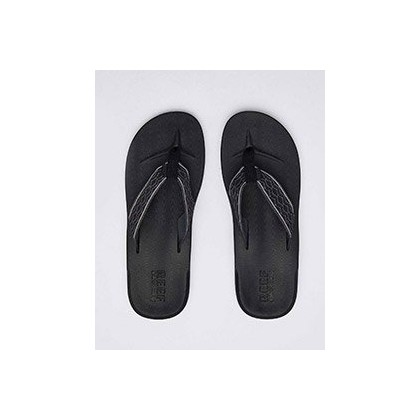 Cushion Smoothy Sandals in Black by Reef