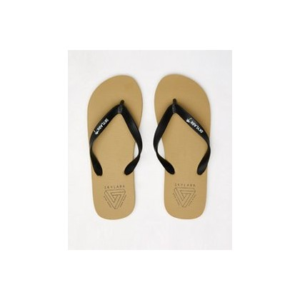 Fracture Thongs in Sand/Black by Skylark