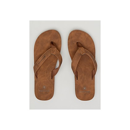 "Caba Thongs in ""Brown""  by Kustom"
