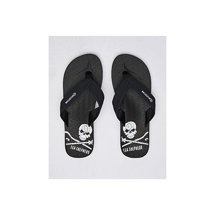 Burleigh Ss Thongs in Ss Black by Kustom