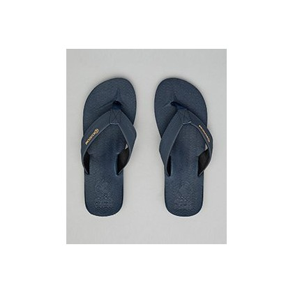 Burleigh Thongs in Navy by Kustom