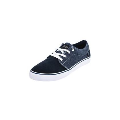 Divide Shoes in Navy/Denim/Suede by Skylark