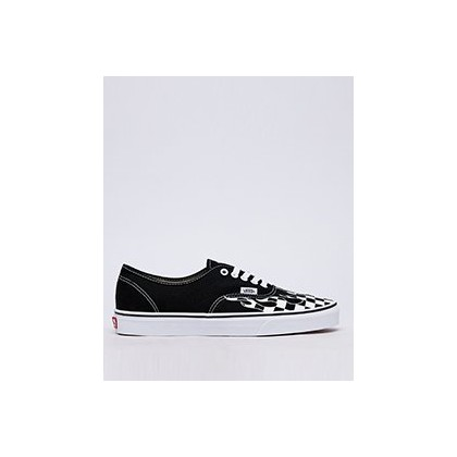 Authentic Shoes in (Checker Flame) Black/Tru by Vans