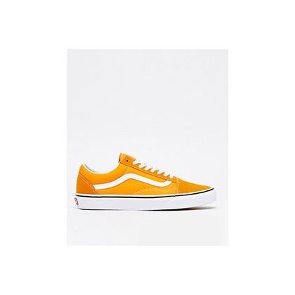 Old Skool Shoes in Dark Cheddar/True White by Vans