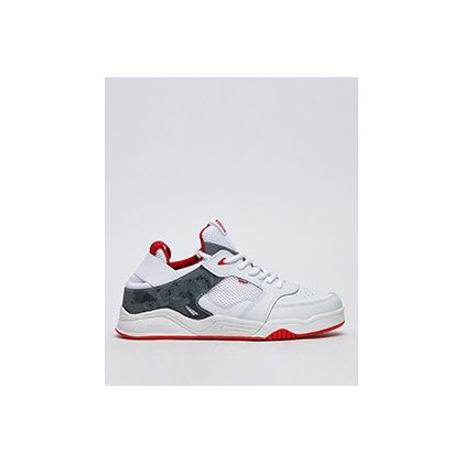 Tilt Evo Shoes in White/Red/Camo by Globe