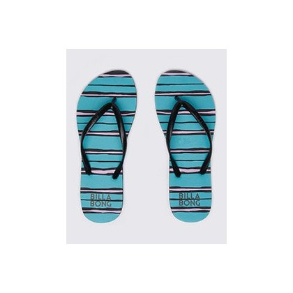 Lay Days Thongs in Black by Billabong