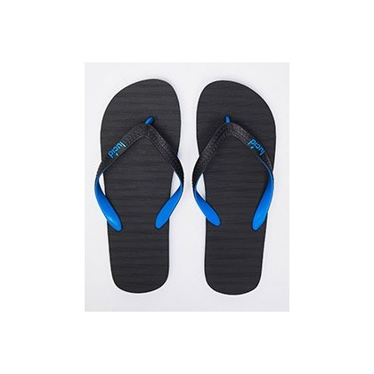 Elite V6 Thongs in Black/Blue by Lucid