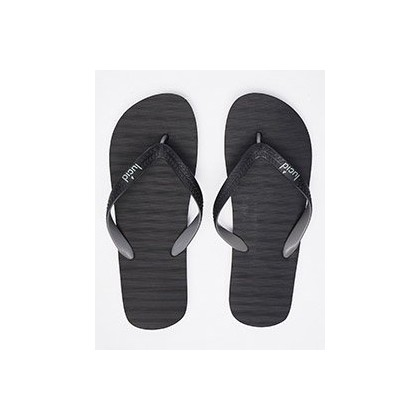 Elite V6 Thongs in Black/Grey by Lucid