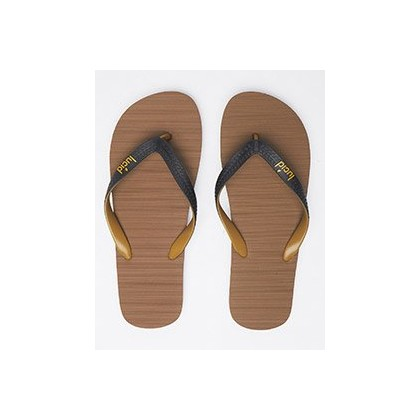 Elite V6 Thongs in Tan/Black by Lucid